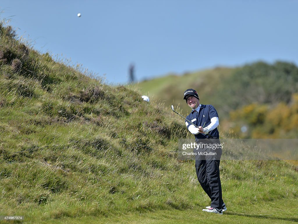 Steve Webster of England during Day One of the Irish Open at Royal County Down Golf Club on May 28, 2015 in Newcastle, Northern Ireland.