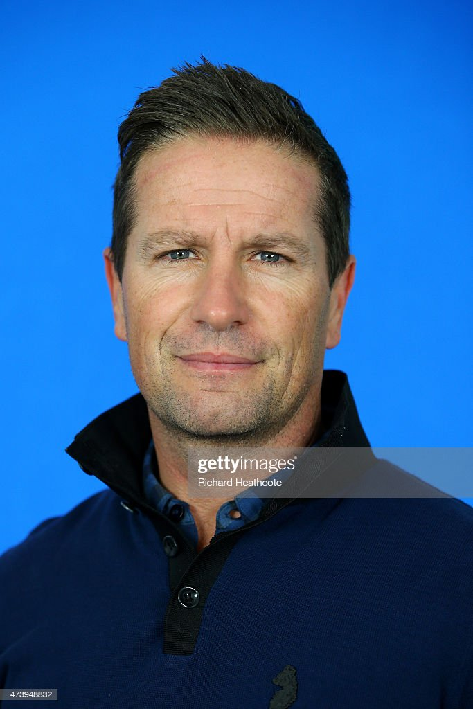 Steve Webster of England poses for a portrait during a practice day for the BMW PGA Championships at Wentworth on May 19, 2015 in Virginia Water, England.