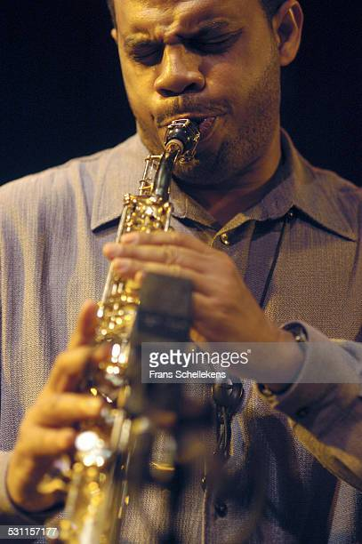 Steve Wilson saxophone performs with Michelle Rosewoman on September 26th 2002 at the BIM huis in Amsterdam the Netherlands