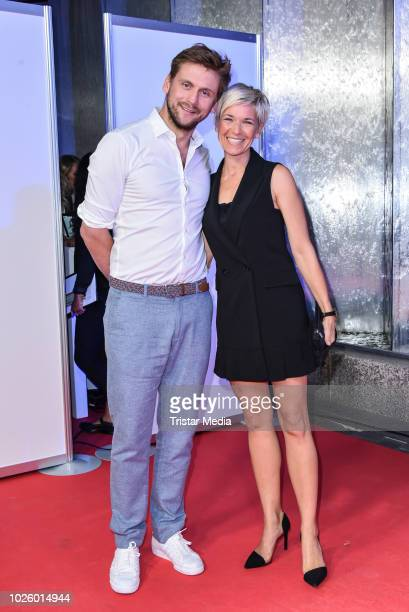 Steve Windolf and his wife Kerstin Landsmann during the Mazda Entertainment Night at Sheraton Berlin Grand Hotel Esplanade on August 31 2018 in...