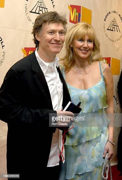 Steve Winwood and Eugenia Winwood during The 19th Annual Rock and Roll Hall of Fame Induction Ceremony Arrivals at Waldorf Astoria in New York City...