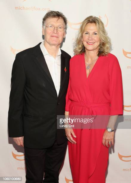 Steve Winwood and Eugenia Winwood on the red carpet of A Funny Thing Happened On The Way To Cure Parkinson's benefitting The Michael J Fox Foundation...