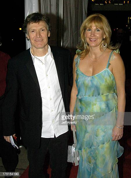 Steve Winwood of Traffic and wife Eugenia during The 19th Annual Rock and Roll Hall of Fame Induction Ceremony Red Carpet at Waldorf Astoria in New...