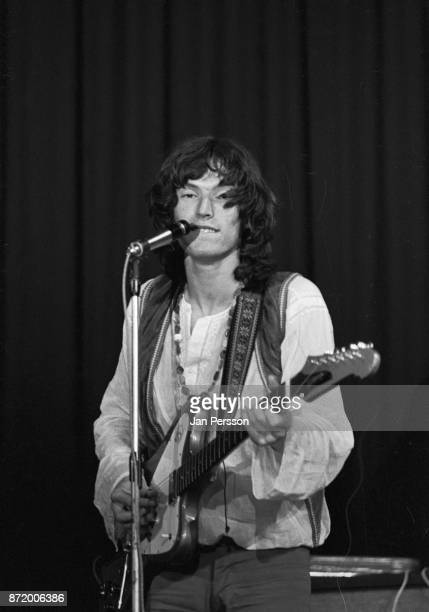 Steve Winwood performing with Traffic in Copenhagen Denmark 1968