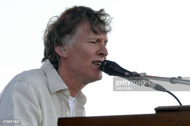 Steve Winwood performs at the Dick's Sporting Goods in Denver Colorado on July 19 2008