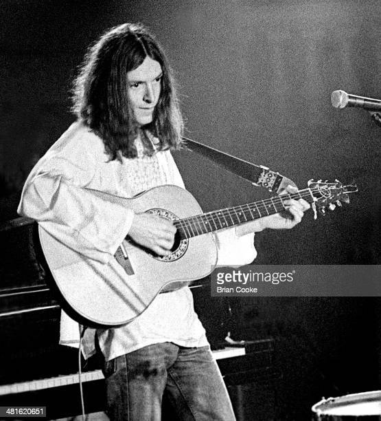 Steve Winwood playing with Traffic at Birmingham Town Hall on 20th March 1973 on their On The Road tour