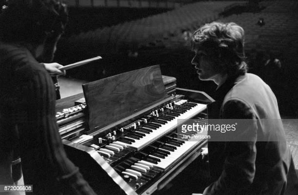 Steve Winwood rehearsal with Traffic in Copenhagen Denmark 1968