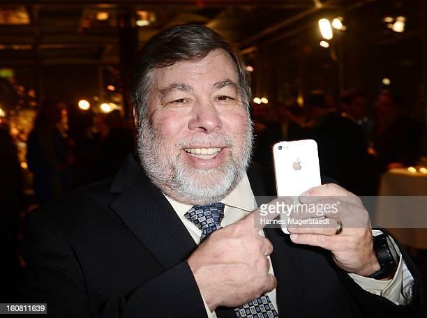 Steve Wozniak cofounder Apple attends the Best Brands 2013 Gala at Bayerischer Hof on February 6 2013 in Munich Germany