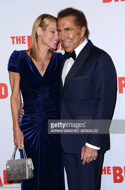 Steve Wynn and his wife Andrea Hissom attend The Black Tie Dinner to celebrate The Broad Museum Opening in Los Angeles California on September 2015...