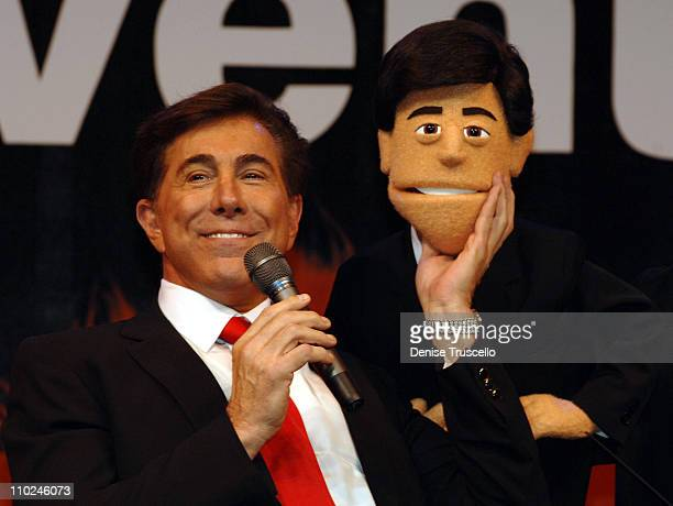 Steve Wynn during Avenue Q Press Conference at Wynn Las Vegas August 16 2005 at Wynn Las Vegas in Las Vegas Nevada United States