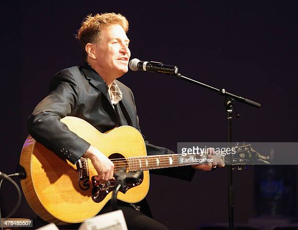 Steve Wynn of The Baseball Project performs onstage at Warehouse Songs and Stories during the 2014 SXSW Music Film Interactive at Austin Convention...