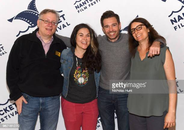 Steve Young Dava Whisenant Ozzy Inguanzo and Susan Littenberg attend the screening of 'Bathtubs Over Broadway' at the 2018 Nantucket Film Festival...