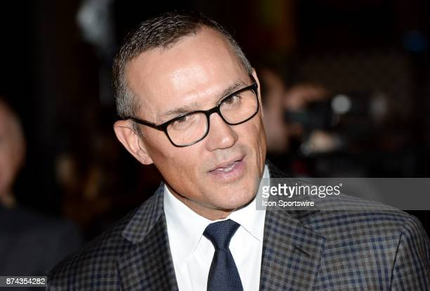 Steve Yzerman walks the red carpet before the 2017 Hockey Hall of Fame induction ceremony at Brookfield Place on November 13 2016 in Toronto ON Canada