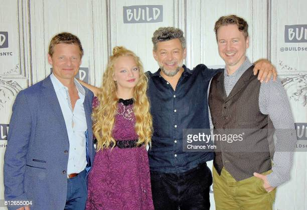 Steve Zahn Amiah Miller Andy Serkis and Matt Reeves attend Build series to discuss 'War For The Planet Of The Apes' at Build Studio on July 11 2017...