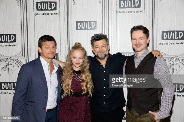 Steve Zahn Amiah Miller Andy Serkis and Matt Reeves attend Build to discuss 'War For The Planet Of The Apes' at Build Studio on July 11 2017 in New...