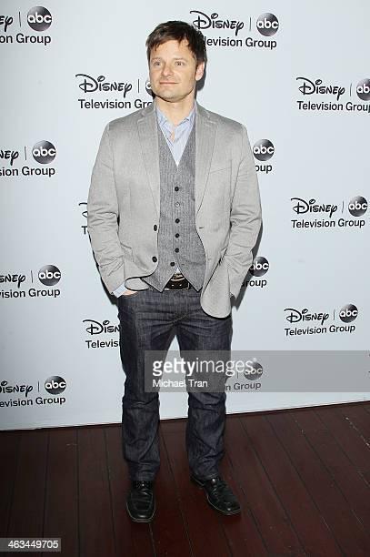 Steve Zahn arrives at the ABC/Disney 2014 Winter TCA party held at The Langham Huntington Hotel and Spa on January 17, 2014 in Pasadena, California.