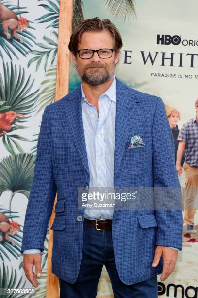 """Steve Zahn attends the Los Angeles premiere of the new HBO Limited Series """"The White Lotus"""" at Bel-Air Bay Club on July 07, 2021 in Pacific..."""