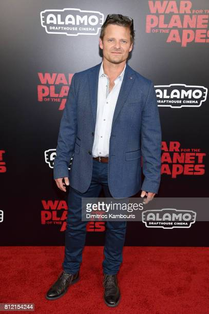 """Steve Zahn attends the """"War For The Planet Of The Apes"""" New York Premiere at SVA Theater on July 10, 2017 in New York City."""