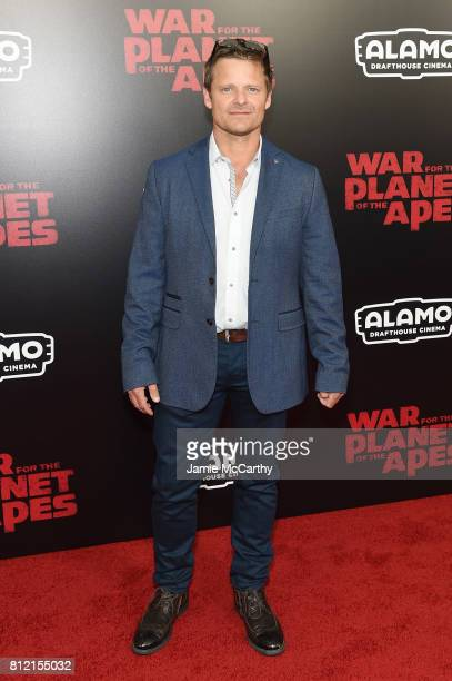 """Steve Zahn attends """"War for the Planet Of The Apes"""" premiere at SVA Theater on July 10, 2017 in New York City."""
