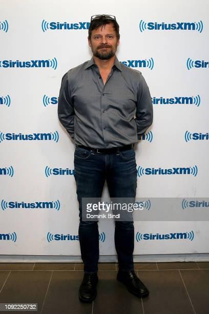 Steve Zahn visits SiriusXM Studios on January 10, 2019 in New York City.