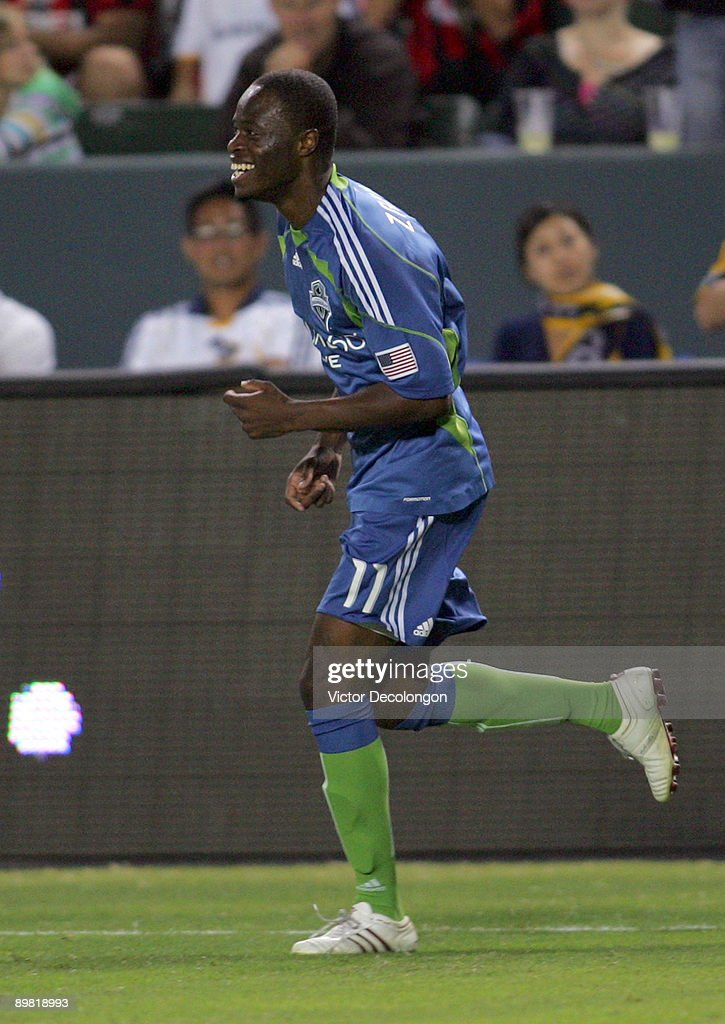 Seattle Sounders FC v Los Angeles Galaxy : News Photo