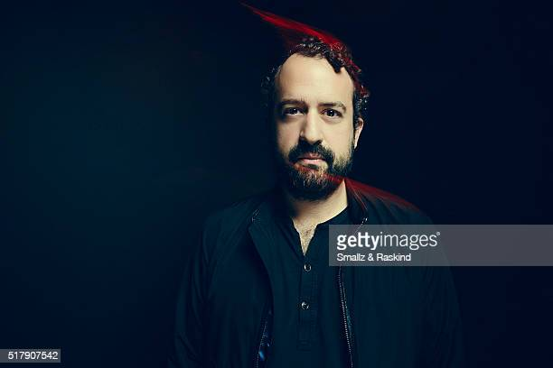 Steve Zissis poses for a portrait in the Getty Images SXSW Portrait Studio Powered By Samsung on March 13, 2016 in Austin, Texas.