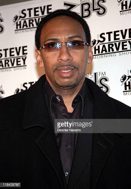 Steven A Smith during 'Don't TripHe Ain't Through With Me Yet' New York Premiere at Magic Johnson Harlem Theate in New York City New York United...