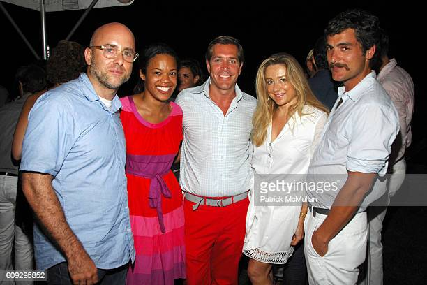 Steven Alan Bonnie Morrison Christian Leone Caroline Berthet and Douglas Friedman attend THE CINEMA SOCIETY THE WALL STREET JOURNAL host the After...