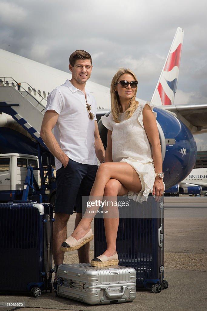 Steven and Alex Gerrard Launch British Airways Caribbean Campaign
