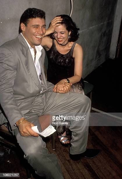 Steven Bauer and Debbie O'Hanian during Steven Bauer and Debbie O'Hanian Sighting at Fountainbleu Hotel April 24 1994 at Fountainbleu Hotel in Miami...