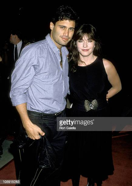 Steven Bauer and Wife Ingrid Anderson during In Country Los Angeles Premiere September 14 1989 in Los Angeles California United States