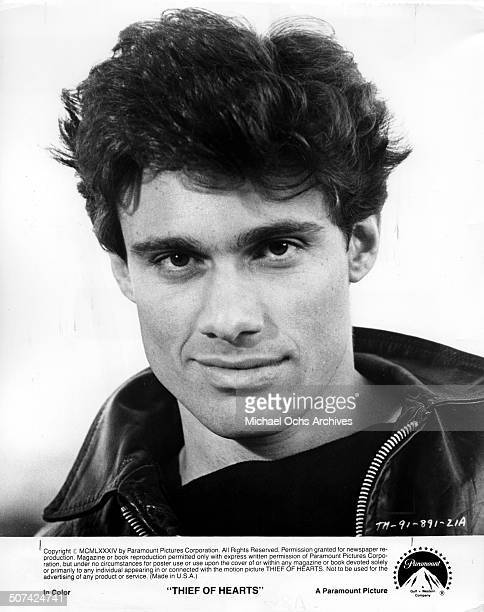 Steven Bauer as Scott Muller poses for the Paramount Pictures movie Thief of Hearts circa 1984