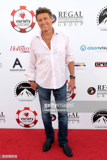 Steven Bauer at the 7th annual Variety The Children's Charity Of Southern California Texas Hold 'Em Poker Tournament at Paramount Pictures on July 26...