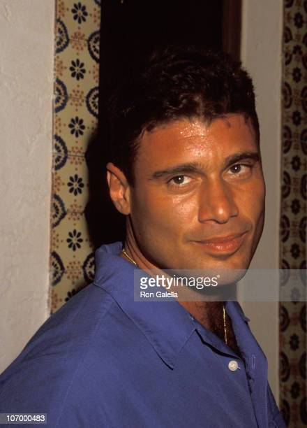 Steven Bauer during Record Release Party for Mambo King July 21 1994 at Centro Vasco in Miami Florida United States
