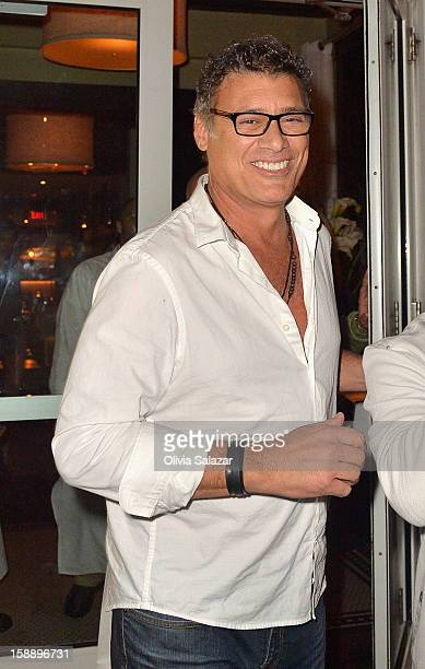 Steven Bauer is seen at Prime 112 Steakhouse on January 2 2013 in Miami Beach Florida