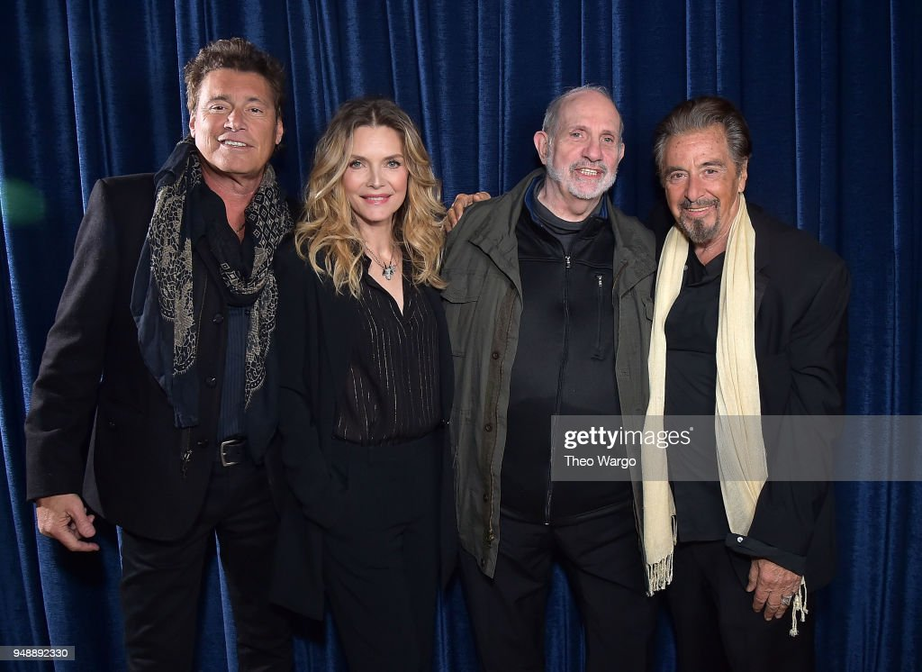 """Scarface"" 35th Anniversary Cast Reunion - 2018 Tribeca Film Festival : News Photo"