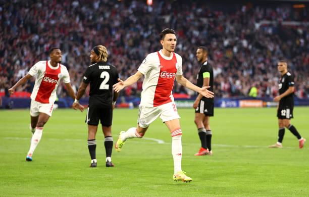 NLD: AFC Ajax v Besiktas: Group C - UEFA Champions League