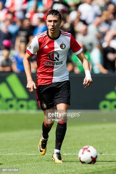 Steven Berghuis of Feyenoord during the Dutch Eredivisie match between Feyenoord Rotterdam and FC Twente at the Kuip on August 13 2017 in Rotterdam...
