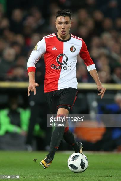 Steven Berghuis of Feyenoord during the Dutch Eredivisie match between Feyenoord Rotterdam and VVV Venlo at the Kuip on November 18 2017 in Rotterdam...