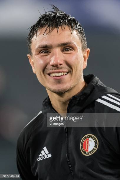 Steven Berghuis of Feyenoord during the UEFA Champions League group F match between Feyenoord Rotterdam and SSC Napoli at the Kuip on December 06...