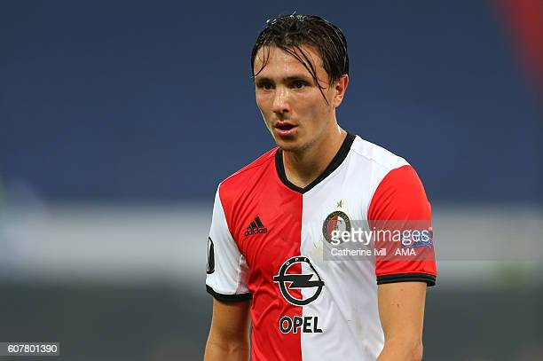 Steven Berghuis of Feyenoord during the UEFA Europa League match between Feyenoord and Manchester United at Feijenoord Stadion on September 15 2016...