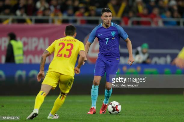 Steven Berghuis of Holland during the International Friendly match between Romania v Holland at the Arena Nationala on November 14 2017 in Bucharest...