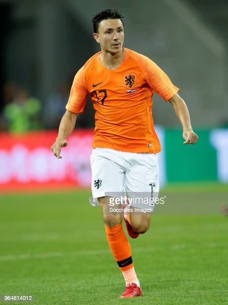 Steven Berghuis of Holland during the International Friendly match between Slovakia v Holland at the City Arena on May 31 2018 in Trnava Slovakia
