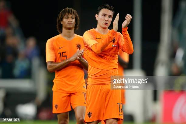 Steven Berghuis of Holland during the International Friendly match between Italy v Holland at the Allianz Stadium on June 4 2018 in Turin Italy