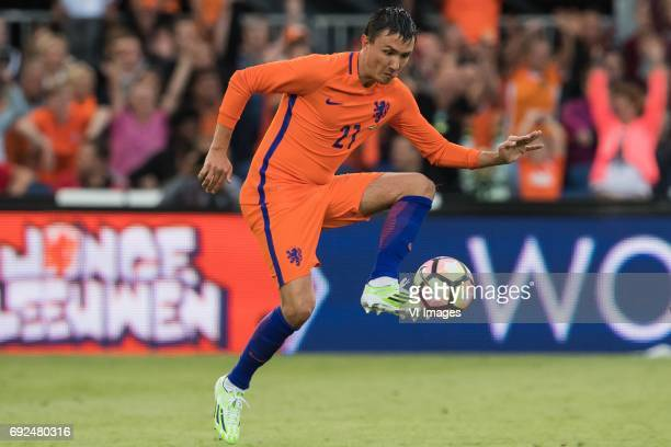 Steven Berghuis of The Netherlandsduring the friendly match between The Netherlands and Ivory Coast at the Kuip on June 4 2017 in Rotterdam The...