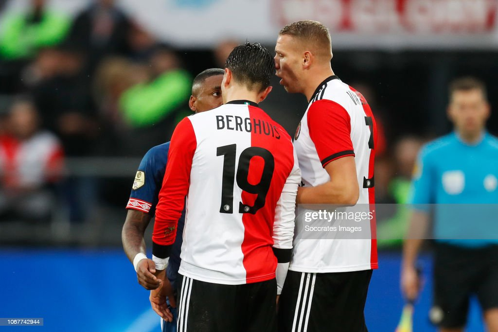 https www gettyimages dk detail news photo steven bergwijn of psv steven berghuis of feyenoord sven news photo 1067742944