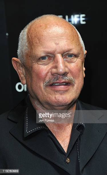 Steven Berkoff attends a preview screening for One Life a new film from BBC Earth Films voiced by Daniel Craig on July 16 2011 in London England
