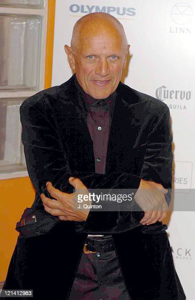Steven Berkoff during 'Amelia Troubridge The Trouble With Men' Private Viewing London at Camden Proud Gallery in London Great Britain