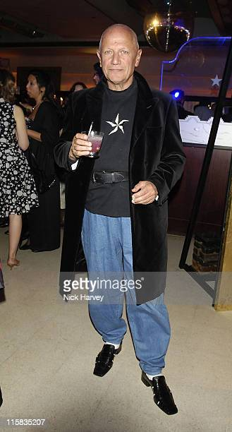 Steven Berkoff during Monday The Charities Lottery – Launch Party at Titanic in London Great Britain