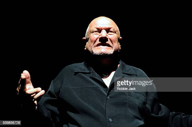 Steven Berkoff in Steven Berkoff's An Actors Lament at Underbelly as part of the Edinburgh Festival Fringe